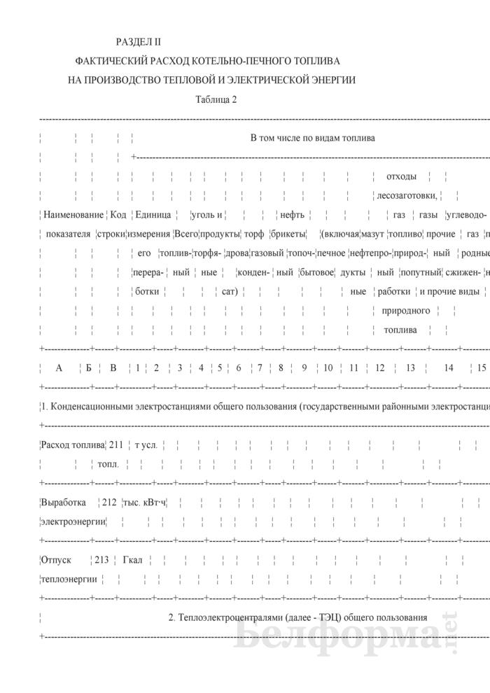 Отчет о расходе топливно-энергетических ресурсов на производство отдельных видов продукции (работ), включая производство тепловой и электрической энергии (Форма 1-тэк (продукция) (годовая)). Страница 4