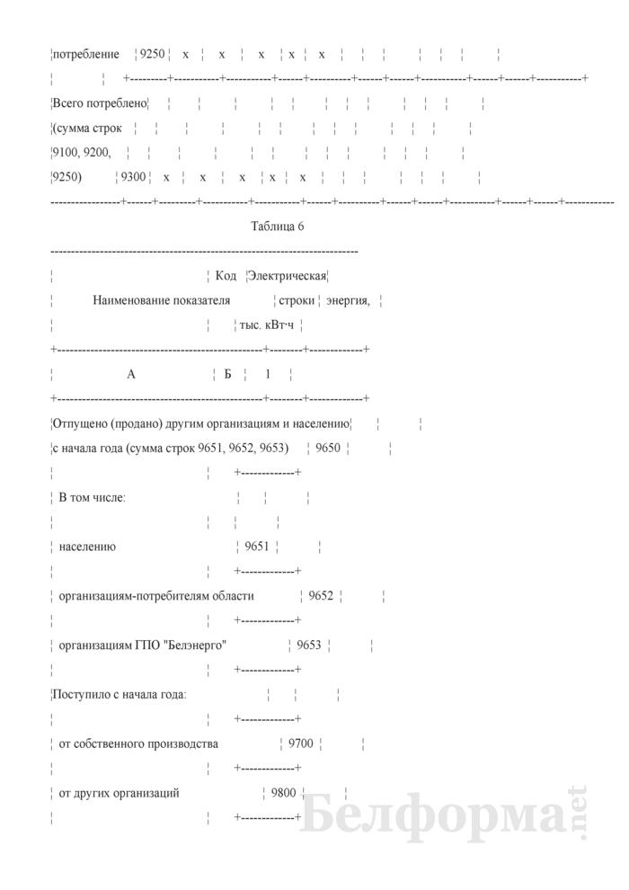 Отчет о результатах использования топлива, тепловой и электрической энергии (Форма 4-нормы ТЭР (Госстандарт) (квартальная)). Страница 13