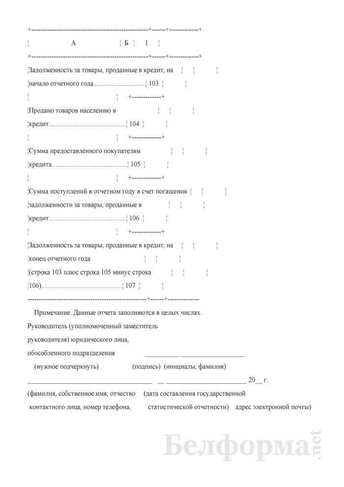 Отчет о розничной торговле (Форма 1-торг (розница) (годовая)). Страница 19