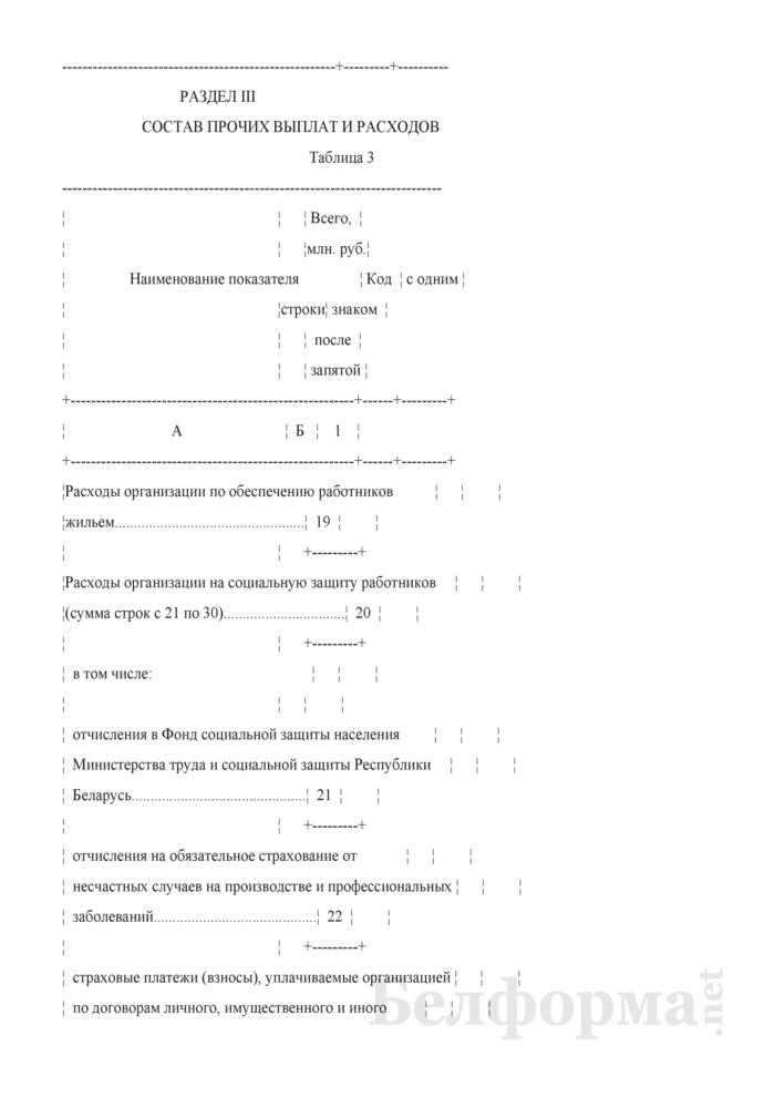 Отчет о составе фонда заработной платы и прочих выплат (Форма 6-т (1 раз в 2 года)). Страница 5