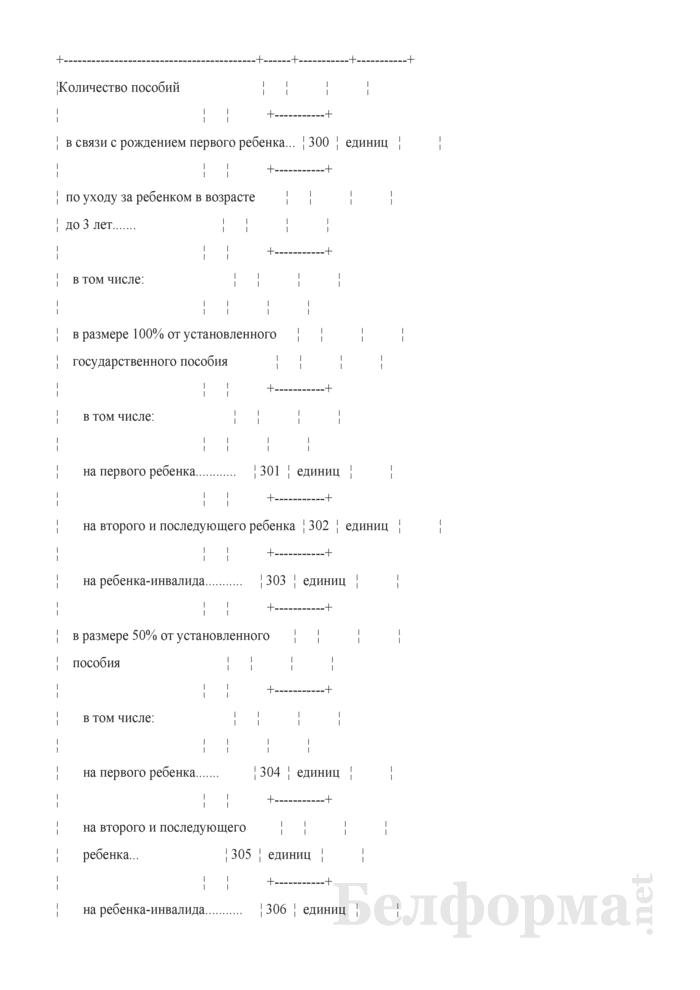Отчет о средствах Фонда социальной защиты населения Министерства труда и социальной защиты Республики Беларусь (Форма 4-фонд (Минтруда и соцзащиты) (квартальная), код формы по ОКУД 0602521). Страница 11