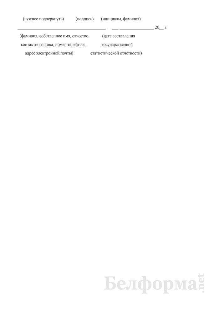 Отчет о структуре розничного товарооборота микроорганизации, индивидуального предпринимателя (Форма 7-торг (товарооборот) (единовременная), код формы по ОКУД 0609051). Страница 14