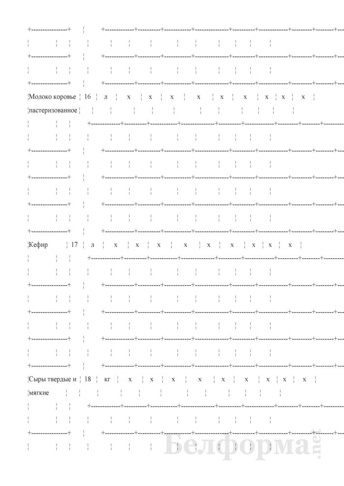 Отчет о структуре розничной цены отдельных видов товаров (Форма 1-цены (торгструктура) (4 раза в год)). Страница 8