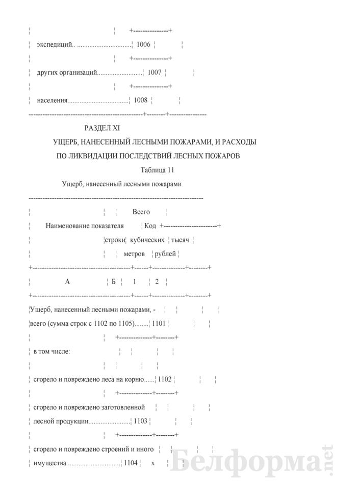 Отчет о воспроизводстве, защите леса и лесных пожарах (Форма 1-лх (воспроизводство и защита леса) (годовая)). Страница 15