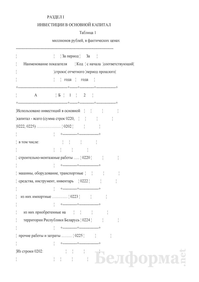 Отчет о вводе в эксплуатацию объектов, основных средств и использовании инвестиций в основной капитал (Форма 6-ис (инвестиции) (8 раз в год) (срочная)). Страница 3