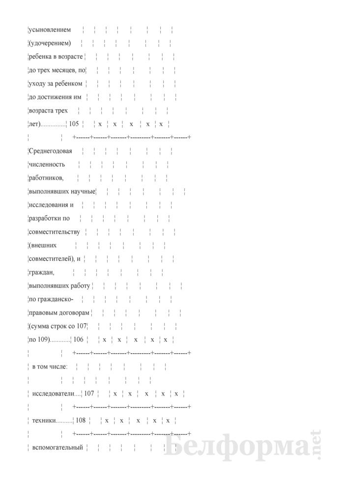 Отчет о выполнении научных исследований и разработок (Форма 1-нт (наука) (годовая)). Страница 5