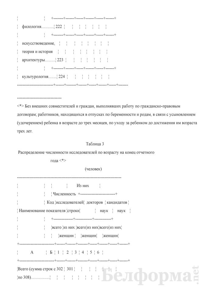 Отчет о выполнении научных исследований и разработок (Форма 1-нт (наука) (годовая)). Страница 9