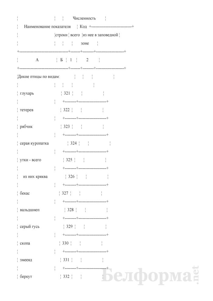 Отчет о заповедниках и национальных парках (Форма 6-лх (заповедник) (1 раз в 3 года)). Страница 7