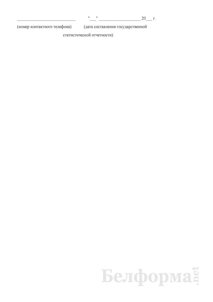 Отчет о зеленых насаждениях. Форма № 6-зеленые насаждения (Минжилкомхоз) (1 раз в 5 лет). Страница 5