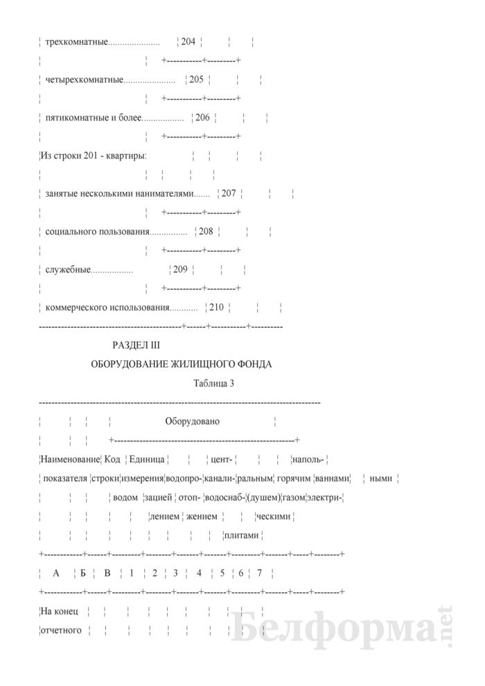 Отчет о жилищном фонде (Форма 1-жкх (жилфонд) (годовая)). Страница 6