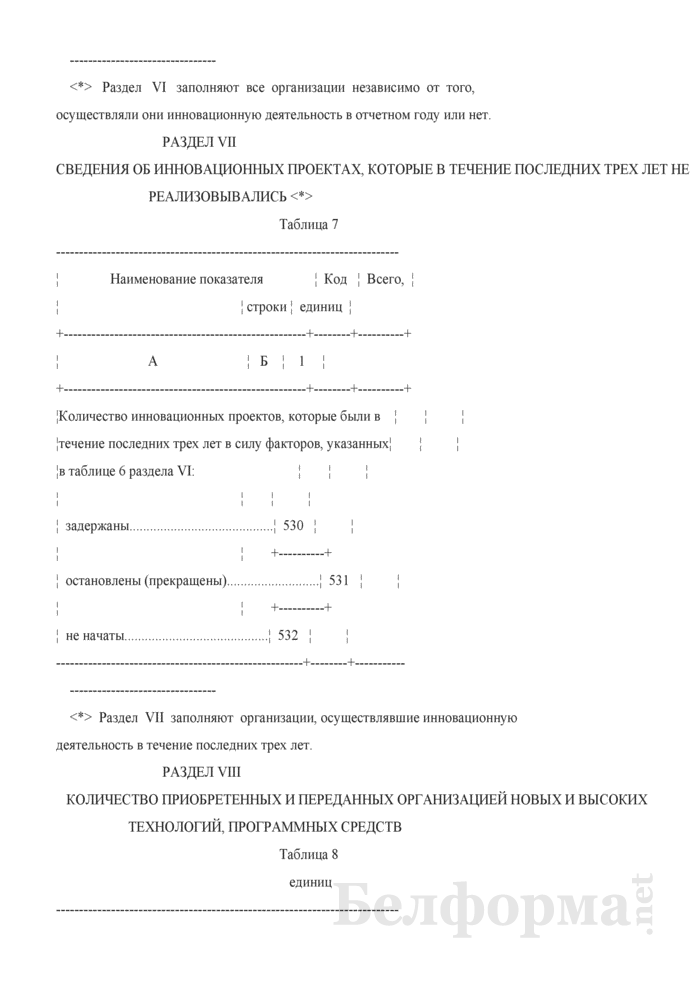 Отчет об инновационной деятельности организации (Форма 1-нт (инновация) (годовая)). Страница 15