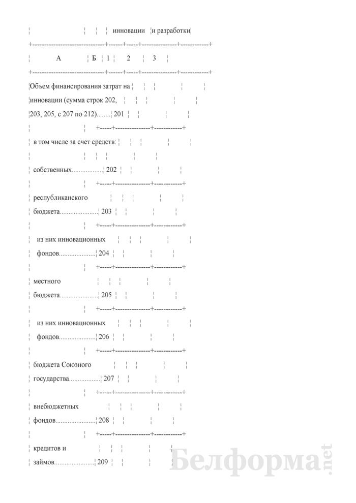 Отчет об инновационной деятельности организации (Форма 1-нт (инновация) (годовая)). Страница 6