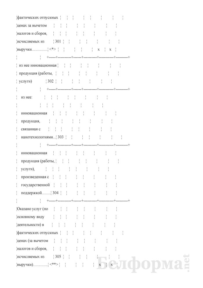 Отчет об инновационной деятельности организации (Форма 1-нт (инновация) (годовая)). Страница 8