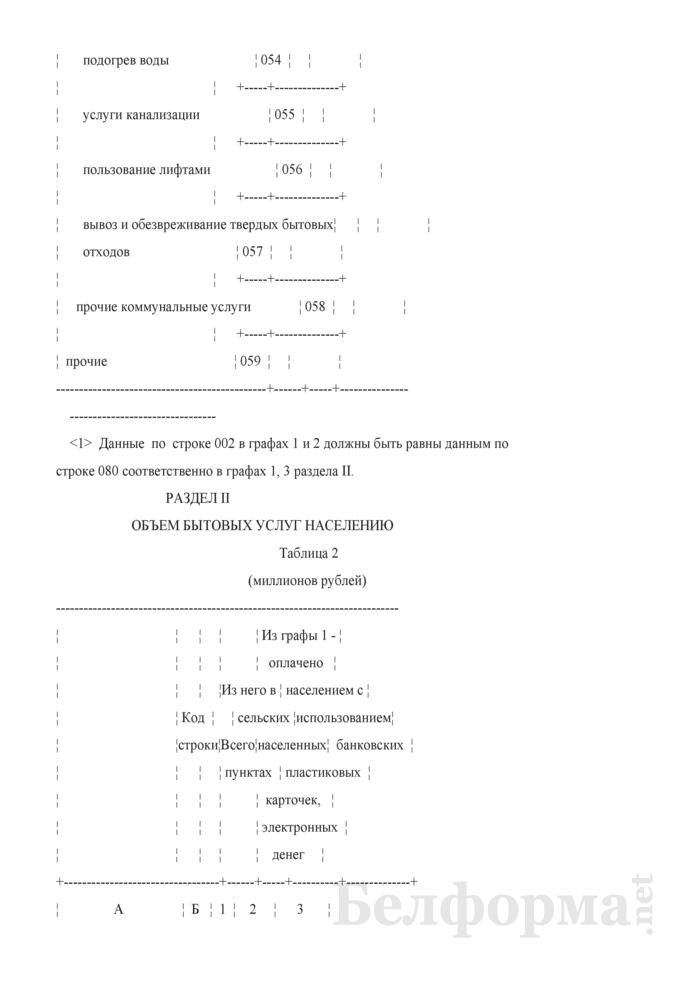 Отчет об объеме платных услуг населению (Форма 1-ун (годовая)). Страница 7
