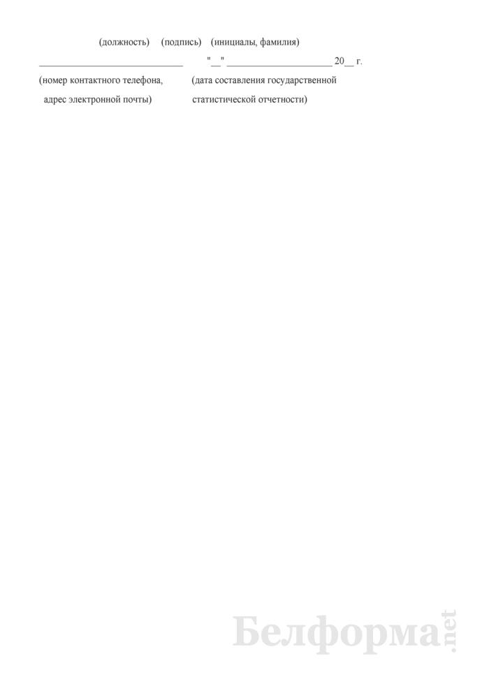 Отчет об оказании юридических услуг (Форма 1-юридические услуги (Минюст) (годовая)). Страница 6