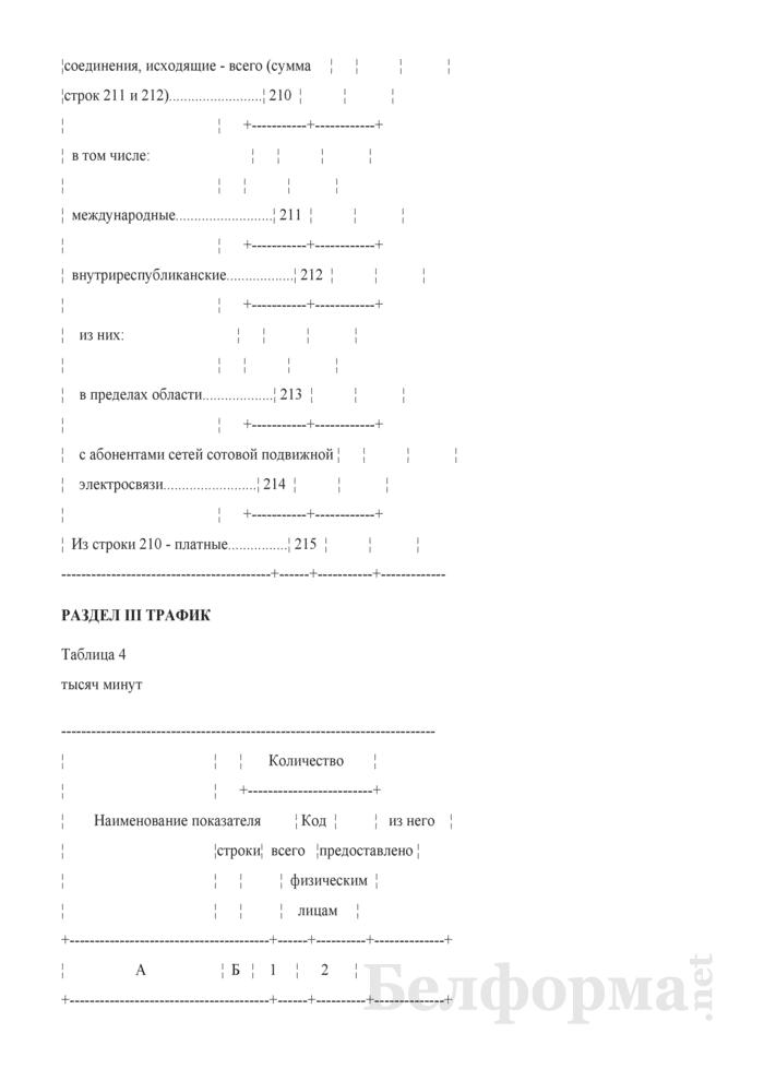 Отчет об услугах связи (Форма 1-услуги (Минсвязи) (годовая)). Страница 9