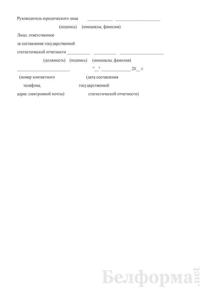 Отчет организации, оказывающей медицинские услуги населению (Форма 1-здрав (микроорганизация) (годовая)). Страница 11