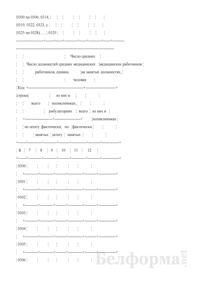 Отчет организации здравоохранения, оказывающей медицинскую помощь в стационарных и амбулаторных условиях (Форма 1-организация (Минздрав) (годовая)). Страница 24