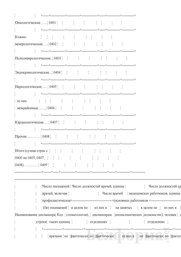 Отчет организации здравоохранения, оказывающей медицинскую помощь в стационарных и амбулаторных условиях (Форма 1-организация (Минздрав) (годовая)). Страница 27