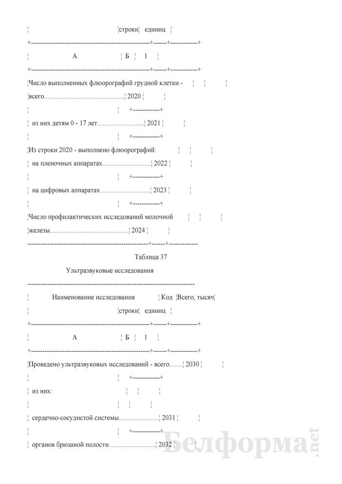 Отчет организации здравоохранения, оказывающей медицинскую помощь в стационарных и амбулаторных условиях (Форма 1-организация (Минздрав) (годовая)). Страница 72