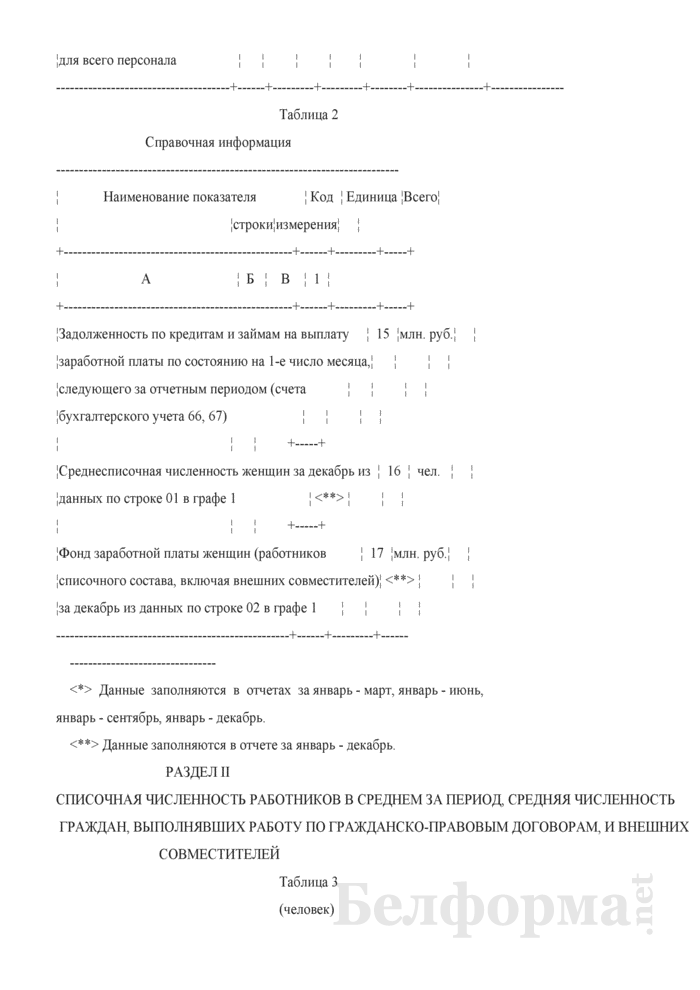 Отчет по труду (Форма 12-т (месячная)). Страница 4