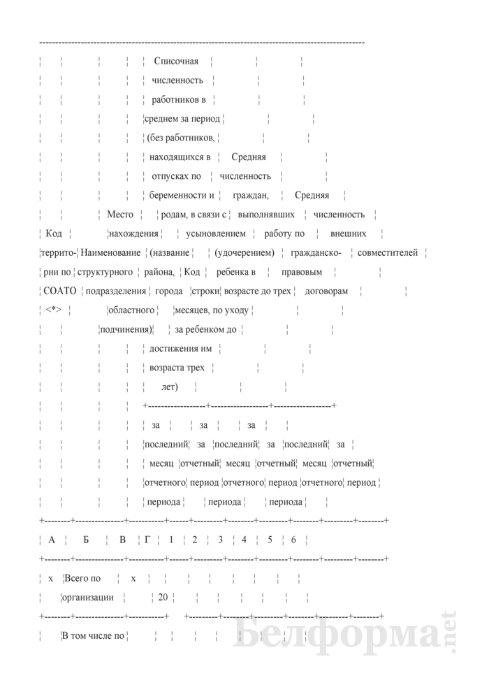 Отчет по труду (Форма 12-т (месячная)). Страница 5