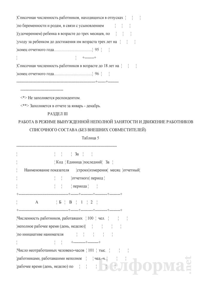 Отчет по труду (Форма 12-т (месячная)). Страница 7