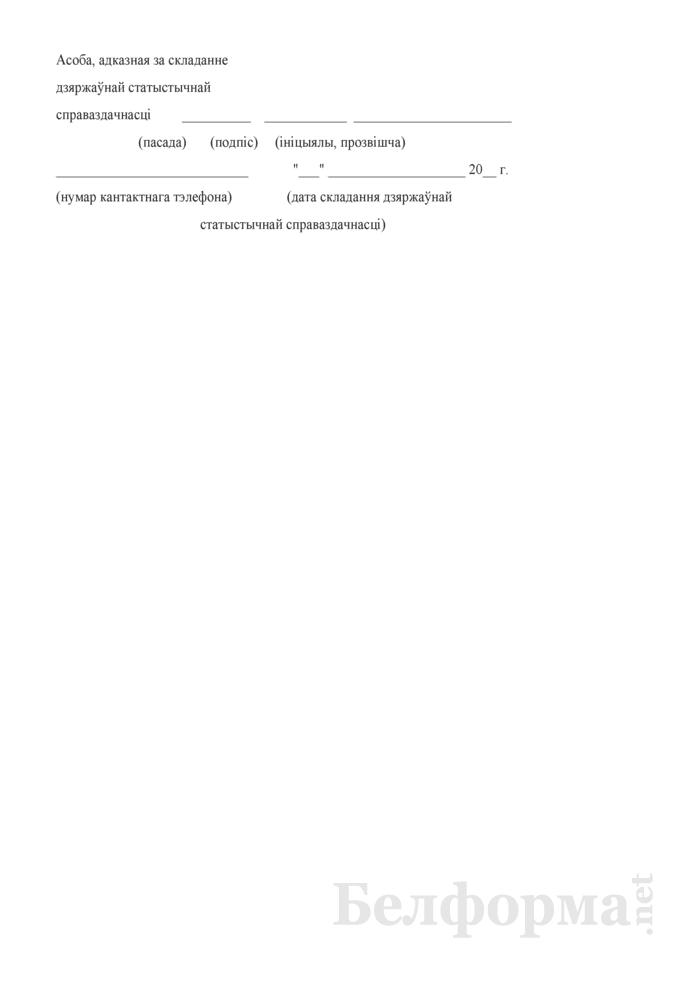 Справаздача аб дзейнасцi клубнай установы. Форма № 1-клубная ўстанова (Мiнкультуры) (гадавая). Страница 7