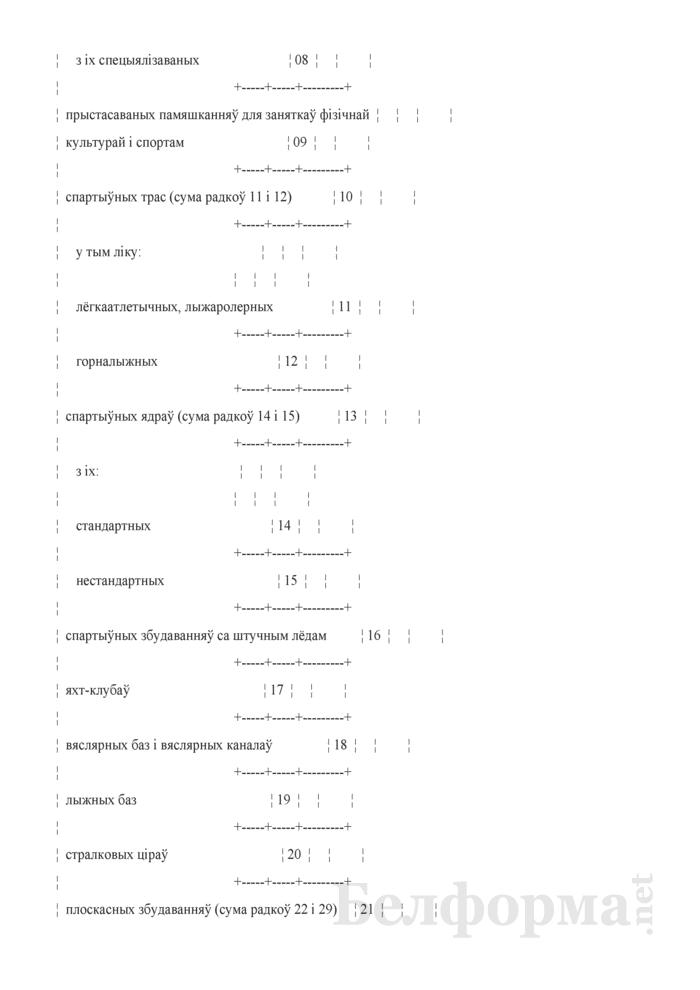 Справаздача па фiзiчнай культуры i спорту (Форма 1-фк (Мiнспорт) (гадавая)). Страница 4