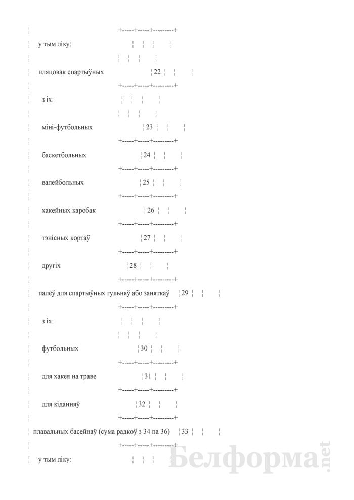 Справаздача па фiзiчнай культуры i спорту (Форма 1-фк (Мiнспорт) (гадавая)). Страница 5