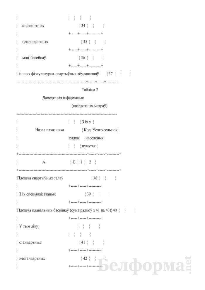 Справаздача па фiзiчнай культуры i спорту (Форма 1-фк (Мiнспорт) (гадавая)). Страница 6