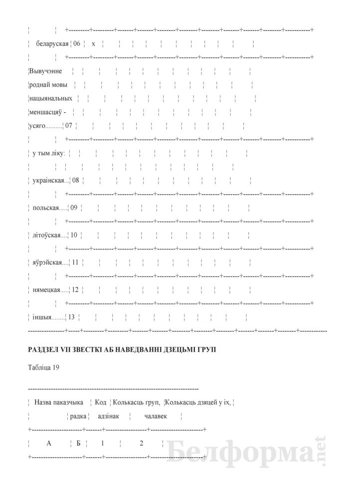 Справаздача ўстановы адукацыi, якая рэалiзуе адукацыйную праграму дашкольнай адукацыi (Форма 1-ду (Мiнадукацыя) (1 раз у год)). Страница 24