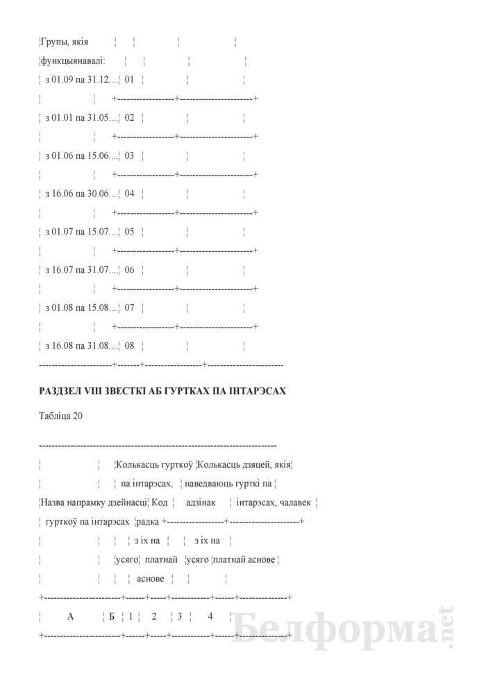 Справаздача ўстановы адукацыi, якая рэалiзуе адукацыйную праграму дашкольнай адукацыi (Форма 1-ду (Мiнадукацыя) (1 раз у год)). Страница 25