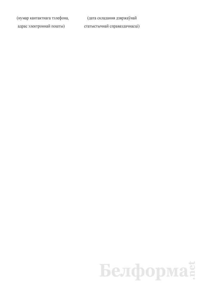 Справаздача ўстановы адукацыi, якая рэалiзуе адукацыйныя праграмы сярэдняй спецыяльнай адукацыi, па стану на 1 кастрычнiка навучальнага года (Форма 1-ссну (Мiнадукацыя) (1 раз у год)). Страница 27