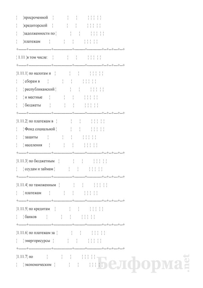 Таблица 4-22. Сведения о государственной поддержке организации. Страница 4