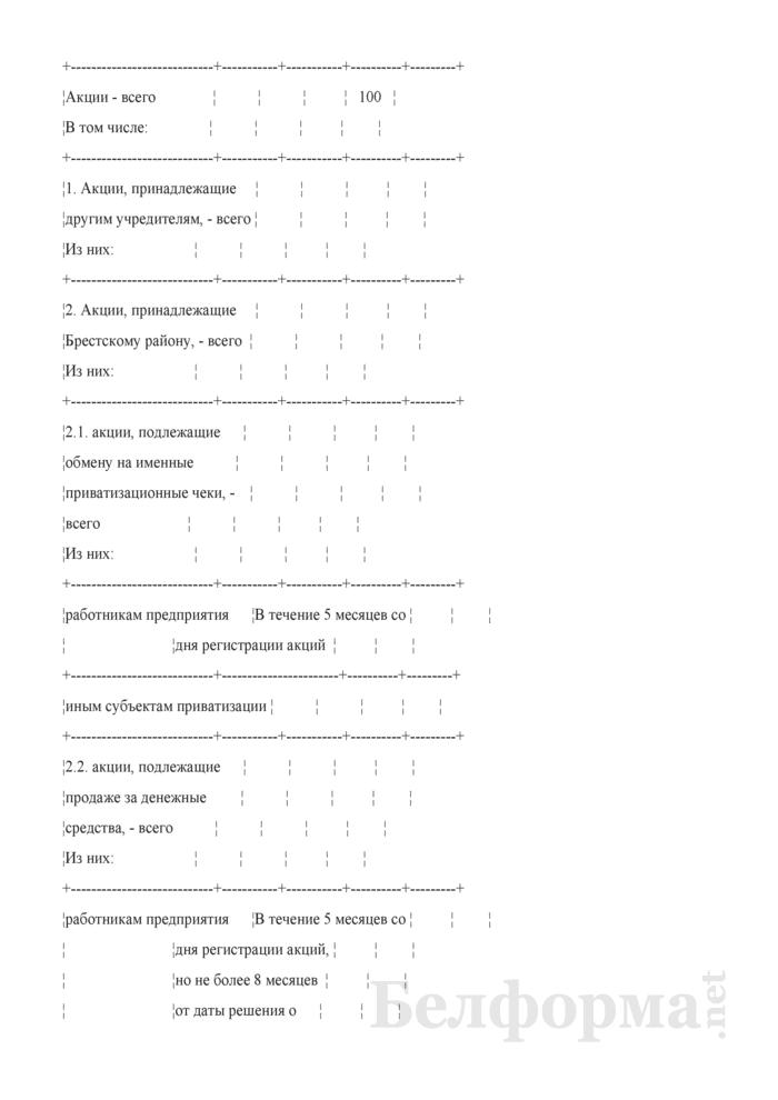 Заключение комиссии по приватизации объекта коммунальной собственности Брестского района. Страница 3