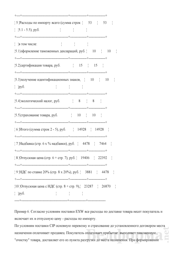 Ценообразование в торговле (Примеры расчетов). Страница 5