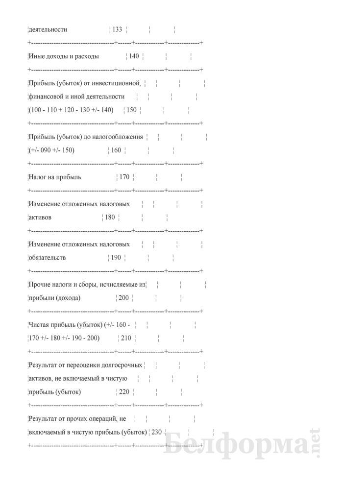 Отчет о прибылях и убытках (Форма 2) (для организаций системы Минсельхозпрода). Страница 4