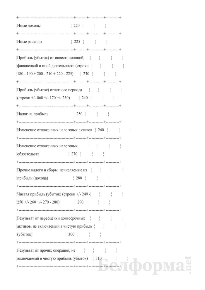 Отчет о прибылях и убытках (для страховых организаций). Страница 7