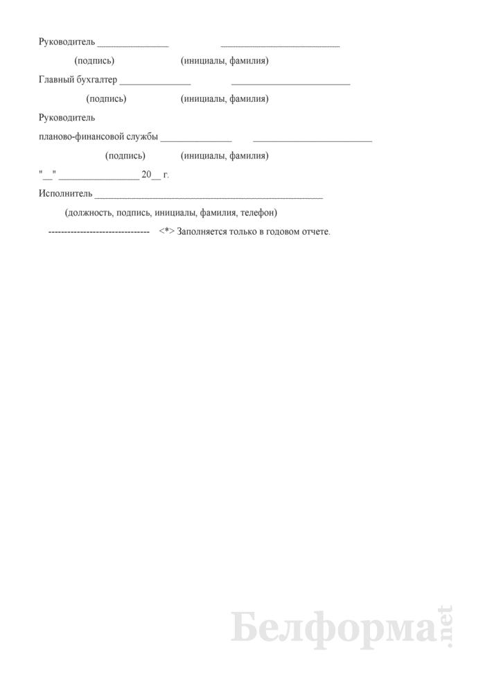 Отчет о выполнении плана по сети, штатам и контингентам по научным организациям (Форма 3-18). Страница 3