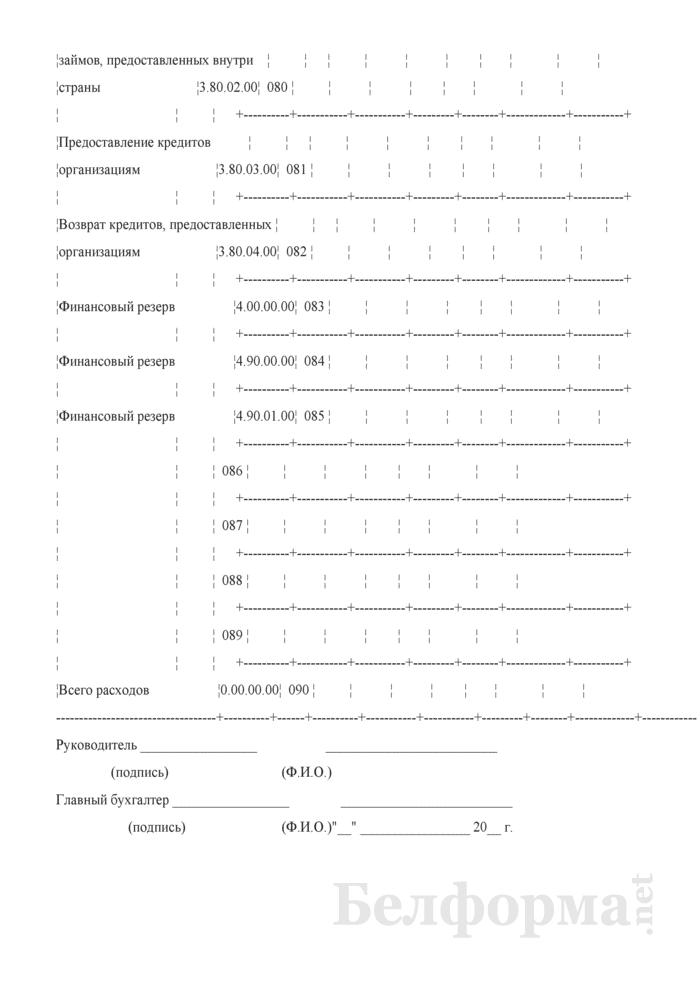 Отчет об исполнении бюджетной сметы. Страница 9