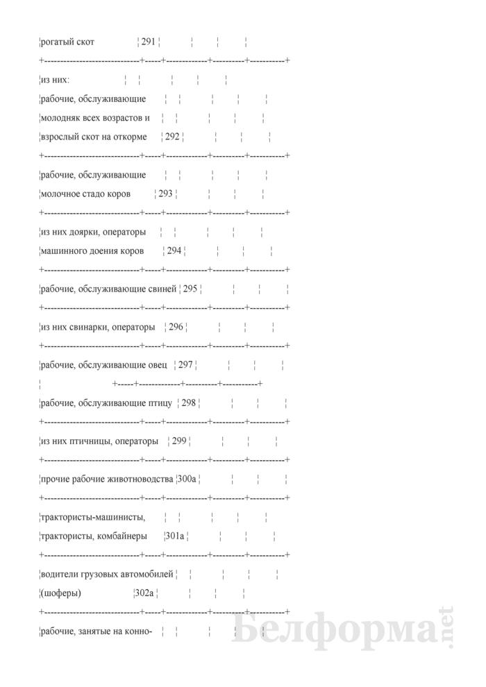 Отчет по труду (Форма 5-АПК). Страница 11