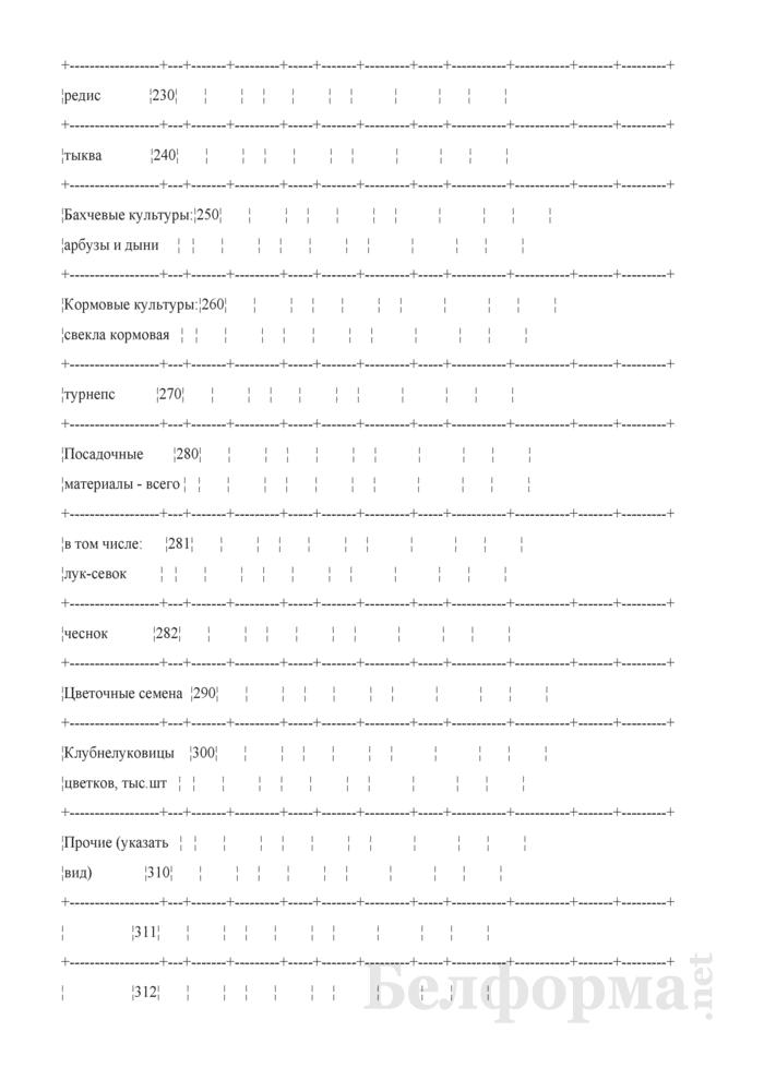 Отчет по заготовке и реализации семян и посадочного материала. 32-АПК. Страница 4