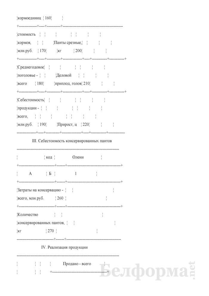 Отчет по звероводству (Форма 22-АПК). Страница 4