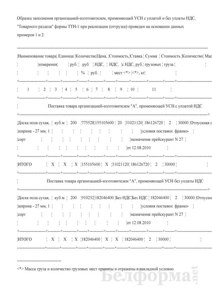 Порядок формирования отпускных цен на товары при применении организациями-изготовителями УСН с уплатой НДС (Примеры). Страница 6