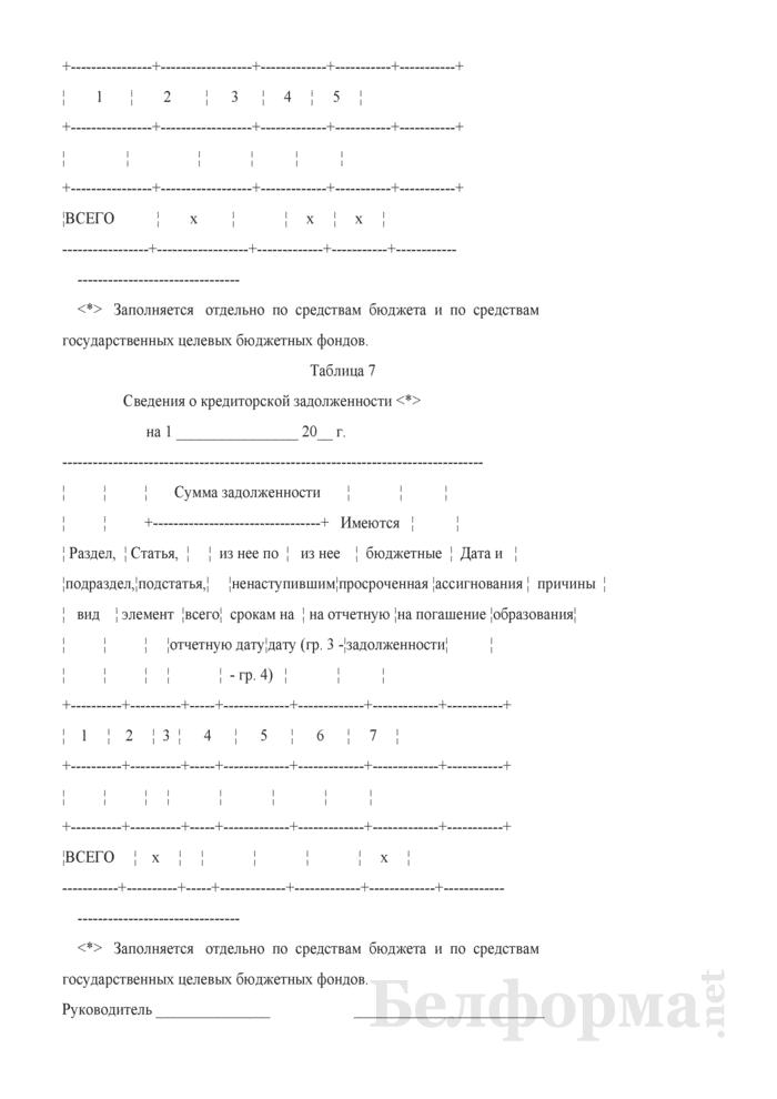 Пояснительная записка (Форма 16). Страница 4