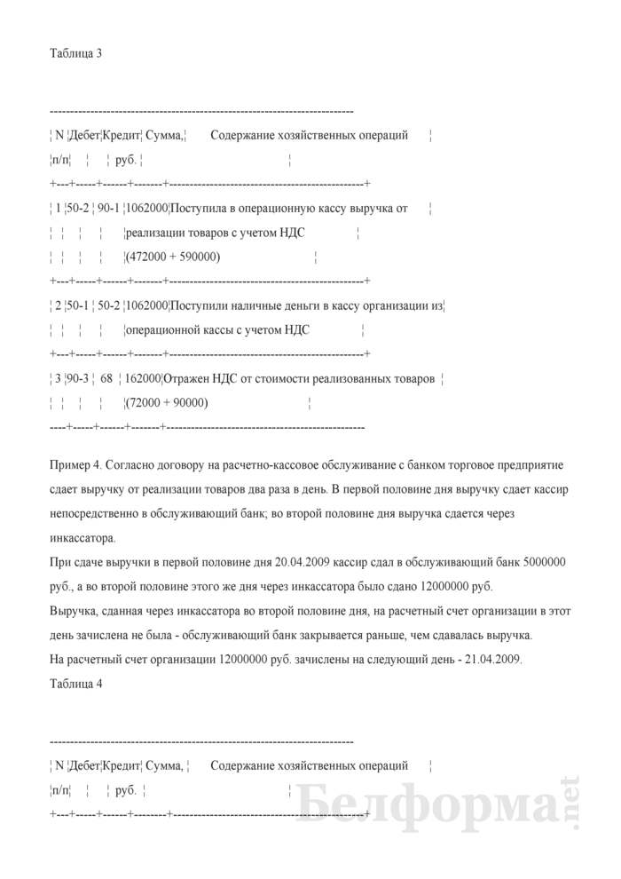 Примеры записей в бухгалтерском учете. Страница 3
