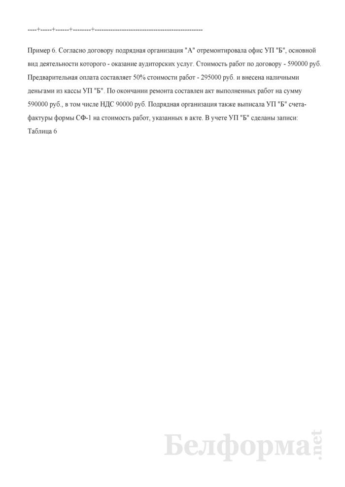 Примеры записей в бухгалтерском учете. Страница 5