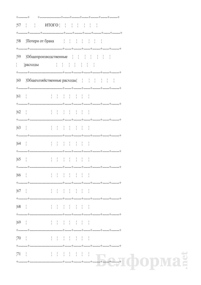 Производственный отчет по промышленным производствам. Форма № 18-Б. Страница 9