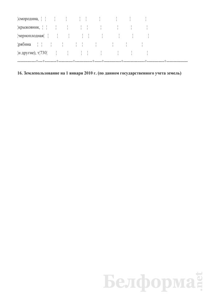 Производство и себестоимость продукции растениеводства (Форма 9-АПК). Страница 9